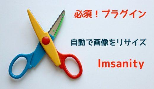 Imsanity: 画像をアップロード時に自動でリサイズするプラグイン