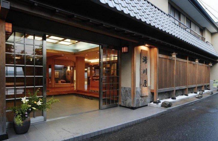 奈良県吉野山の吉野荘湯川屋