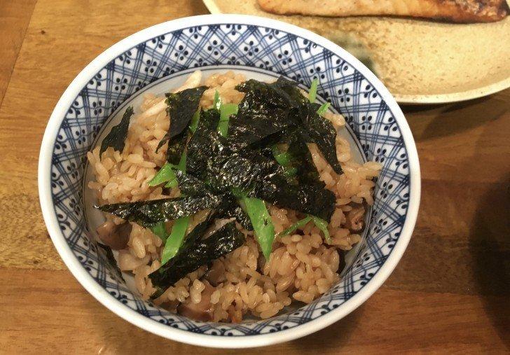 きのこの炊き込みご飯:料理屋さん級の簡単レシピ