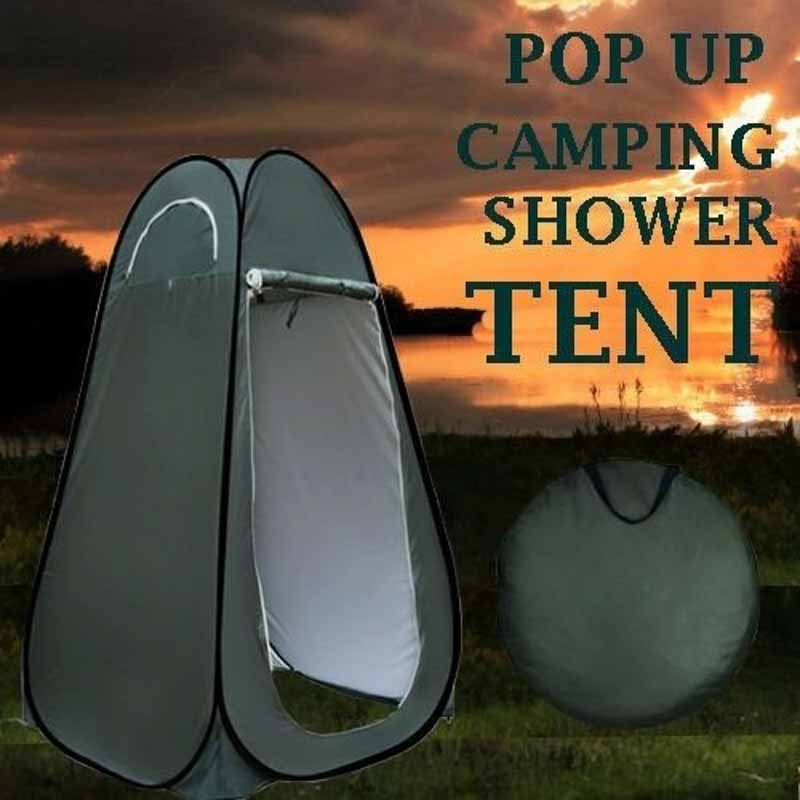 Pop Up Camping Shower Toilet T