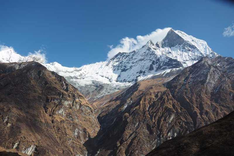 【ネパール】子連れでアナプルナベースキャンプトレッキングの行程