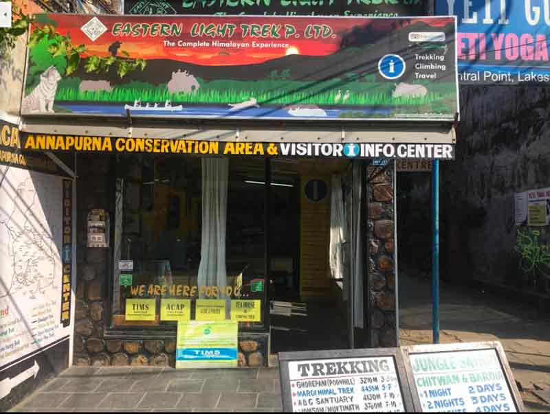 ネパールのポカラでおすすめツアー会社:Eastern Light Trekの詳細とレビュー