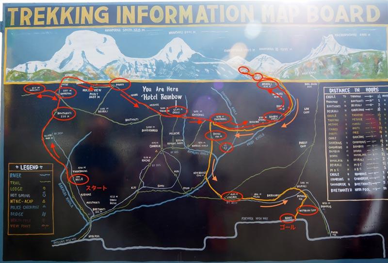 子連れでヒマラヤ登山!アナプルナベースキャンプトレッキング行程は?