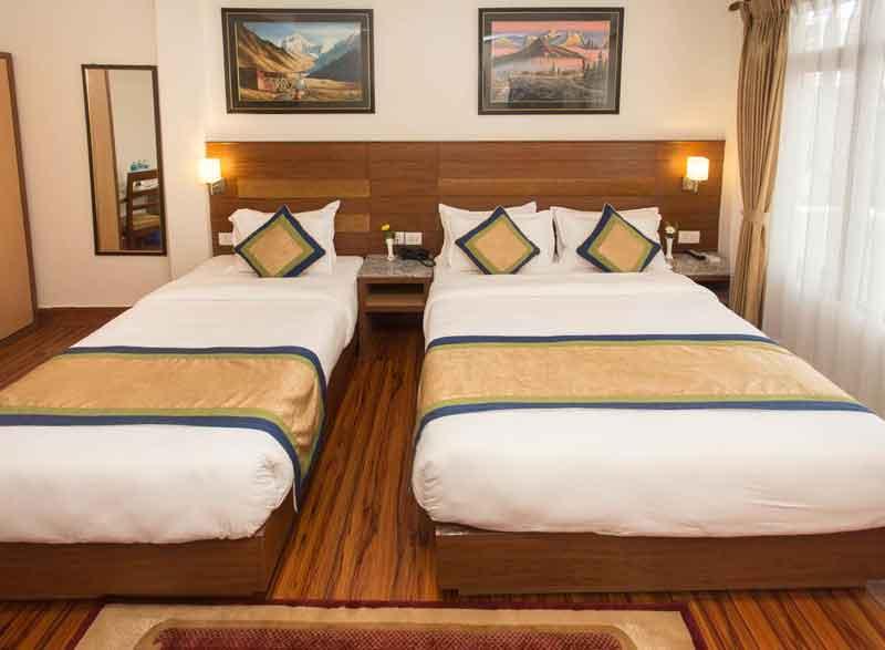 【ネパール】清潔で綺麗!おすすめのホテル:オアシス・カトマンズホテル