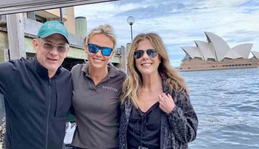 トム・ハンクス夫婦がオーストラリアで新型コロナに感染してSNSで現状報告